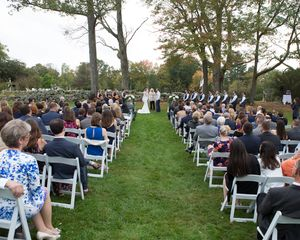 Carriage House Lawn Ceremony